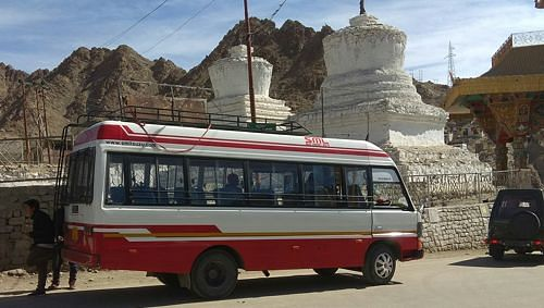 Bus service in Leh (Source: State Times)