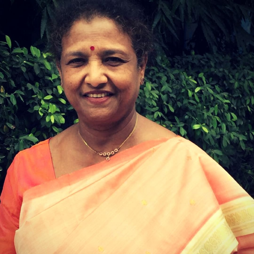 Dr C.K Durga, who will be conferred the Nari Shakti Puraskar award. Image Courtesy: Twitter