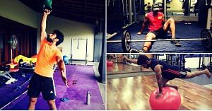 Imran lends us his expert opinion on fitness.Image Courtesy: Instagram