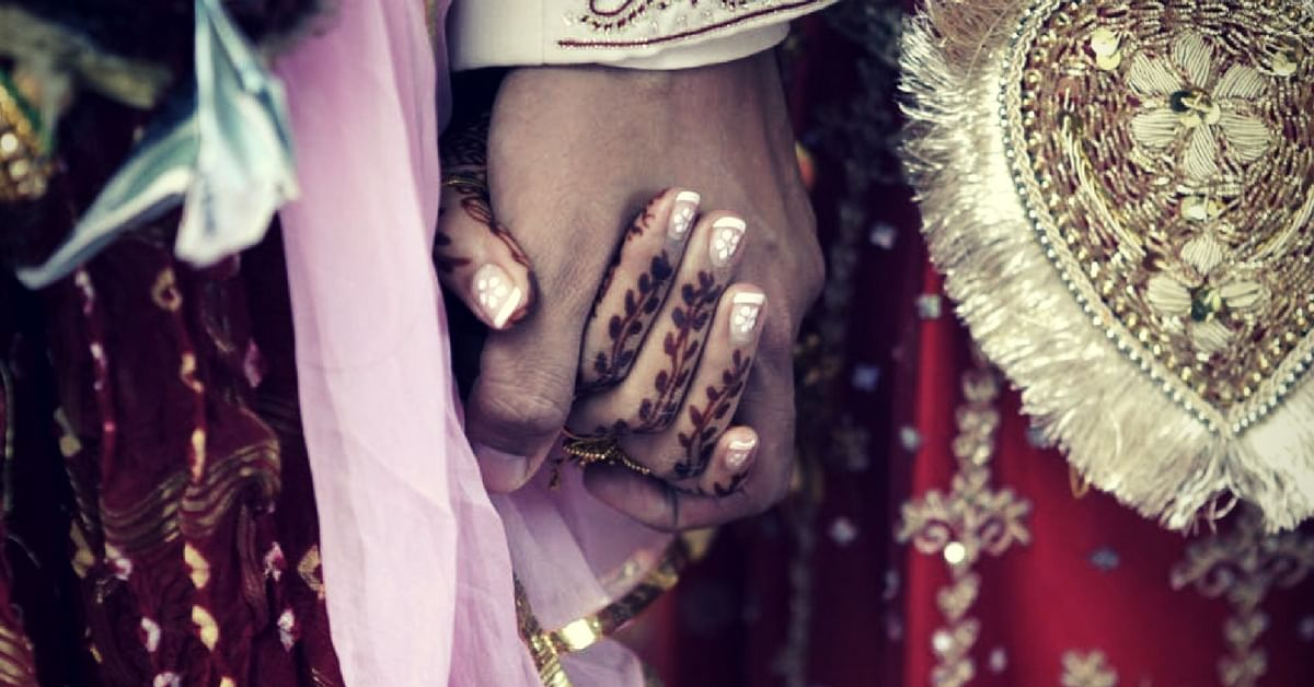 In a one-off rare instance, a priestess solemnized a wedding in Kolkata, without a Kanyadaan. Representative image only. Image Courtesy Pexels