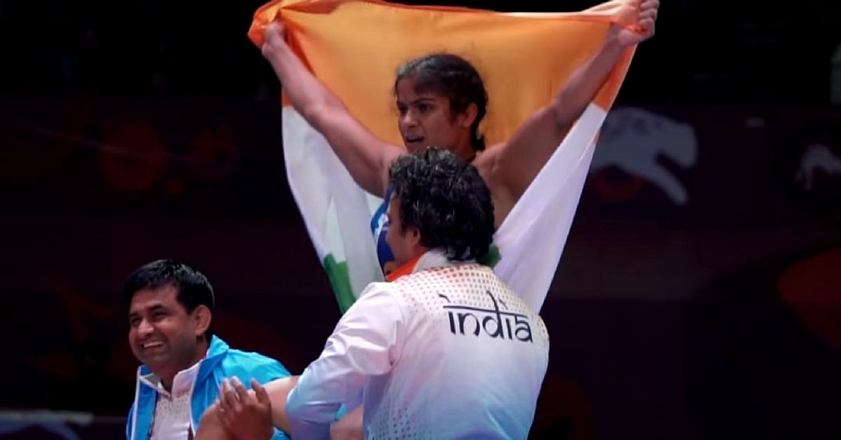 Wrestler's Dad Took a 13 Lakh Loan For Her Training. She Had a 'Golden' Payback