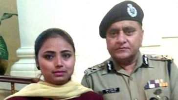 Nazia Khan, who has been appointed as Special Police Officer. Image Courtesy: Twitter