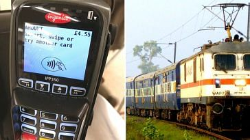 The IRCTC feels POS machines will increase transparency. Representative image only. Image Courtesy: Wikimedia Commons.