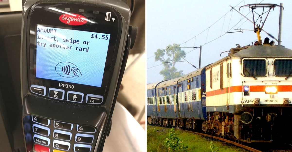 POS machines on board trains will increase transparency, feels IRCTC. Representative image only. Image Courtesy:Wikimedia Commons