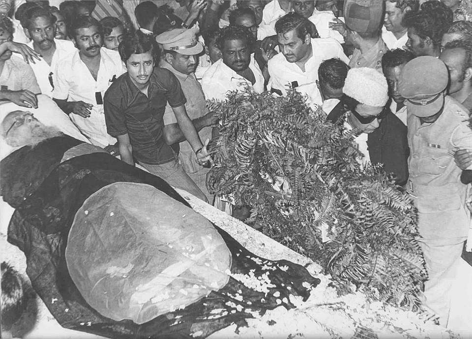 Periyar's funeral. (Source: Facebook)