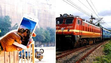 Take a selfie but don't die in the attempt, thanks to the railways.Representative image only. Image Courtesy: Wikimedia Commons.