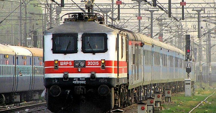 The Indian Railways is setting a benchmark in sustainability and going green. Representative image only. Image Courtesy Wikimedia Commons