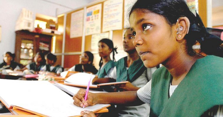 The Tamil Nadu authorities aim to propagate menstrual hygiene awareness among school children. Representative image only. Image Courtesy: Flickr