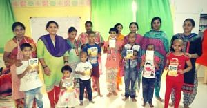 The children, fighting cancer, often come to cities for treatment with their parents. Image Courtesy: St Jude India Child Care Centre