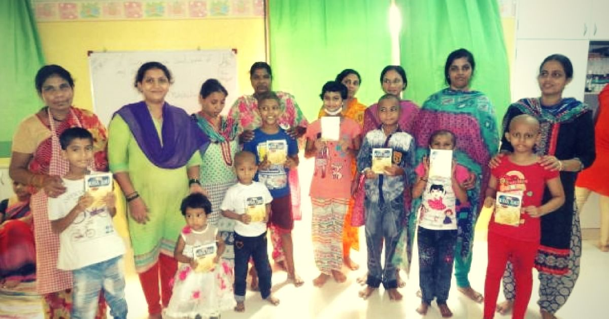 "The children, fighting cancer, often come to cities for treatment with their parents. Image Courtesy: <a href=""https://www.facebook.com/StJudeIndia/"">St Jude India ChildCare Centres</a>"