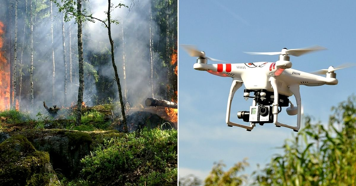 The drones can penetrate regions effectively, to aid rescue operations during a fire. Representative image only. Image Courtesy: Pixabay.
