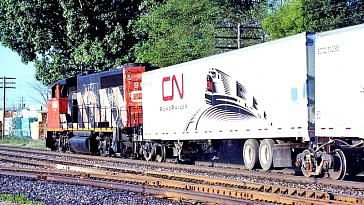 The roadrailer will revolutionise the way cargo is moved in India.Image Courtesy: Twitter