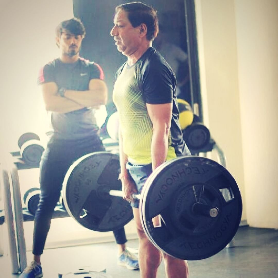 Train with guidance, insight and caution, so as not to invite pain.Image Courtesy: Instagram