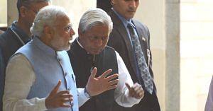 Prime Minister Narendra Modi with Prof. K VijayRaghavan. (Source: Facebook)