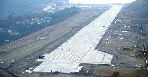 Airport runway. (Source: Twitter/Suresh Prabhu)