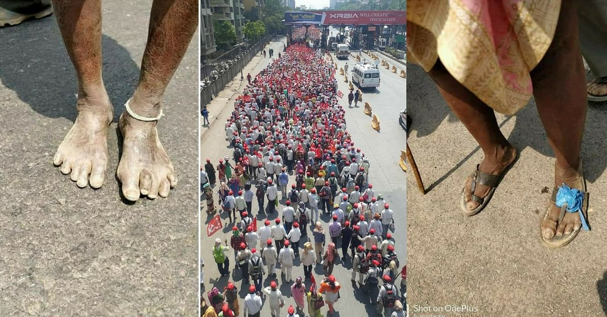 30000 farmers head towards Mumbai to demand complete loan waiver