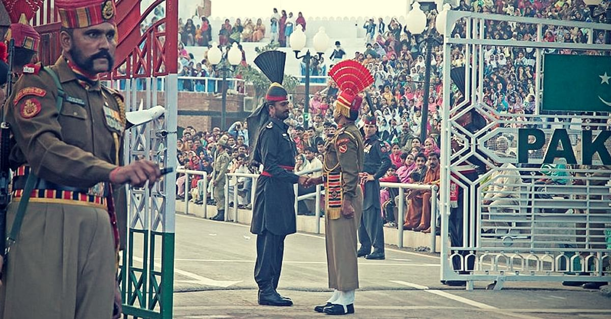 Wagah border. For representational purposes only (Source: Wikimedia Commons)