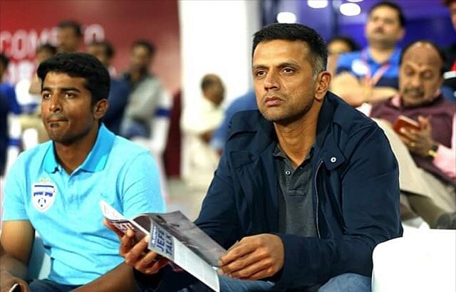 Former Indian cricketer Rahul Dravid. (Source: Facebook)