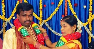 visually-impaired couple wedding bengaluru
