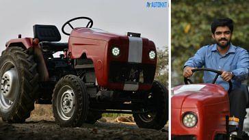 Autonomous Tractor of AutoNxt