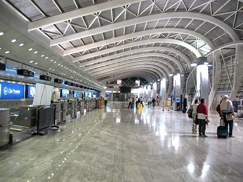 Mumbai Airport air hostess saves baby