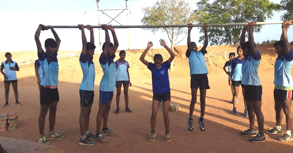 At the Kavinadu Youth Sports Club, underprivileged youth are trained in sports. Image Courtesy: Facebook.