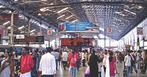 Inside Chennai Central (Source; Wikimedia Commons)