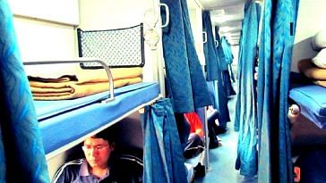 Expect cleaner blankets in the AC coaches of the Indian Railways! Image Courtesy.