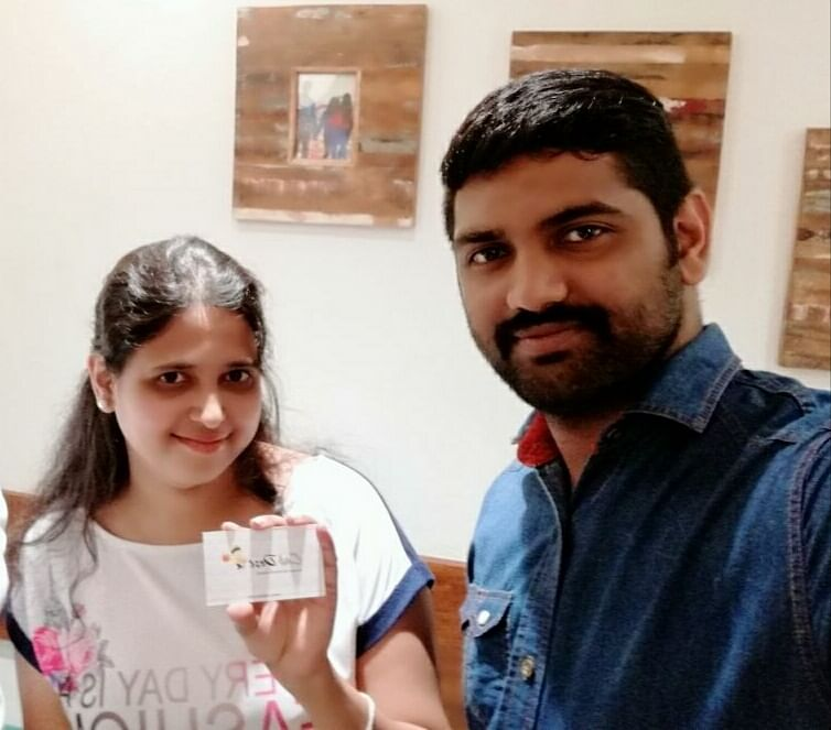 Founders of Cab Dost: Yamuna Sastry and Shafeeque T