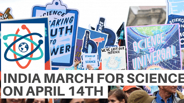 INDIA MARCH FOR SCIENCE ON APRIL14