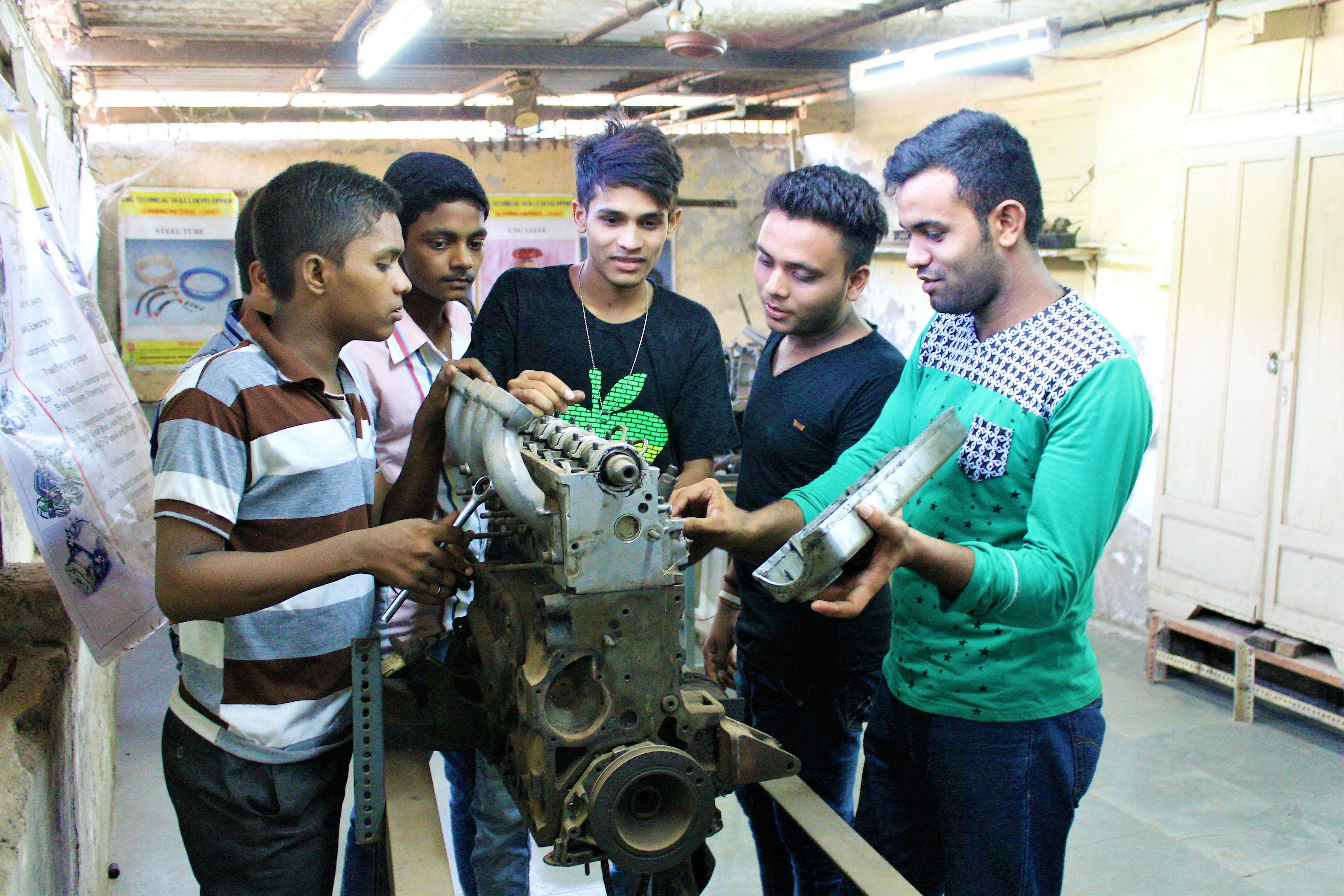 hands-on training, skill development, arc welding