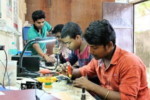 youth, wire repair, skill development