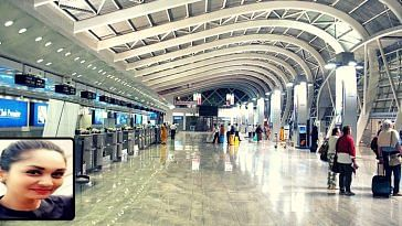 Mumbai Airport air hostess saves baby