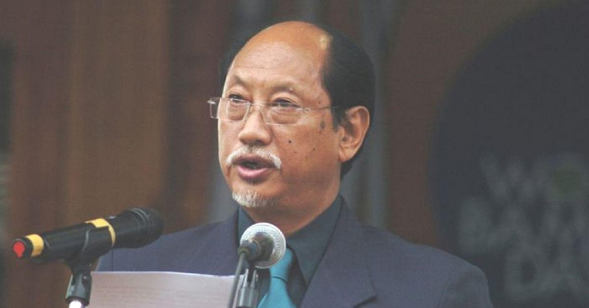 Nagaland Chief Minister Neiphiu Rio (Source: Facebook)