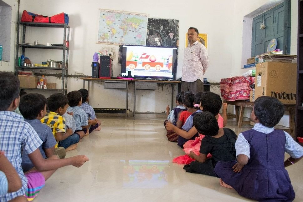 Enhanching the learning experience of school-going children.