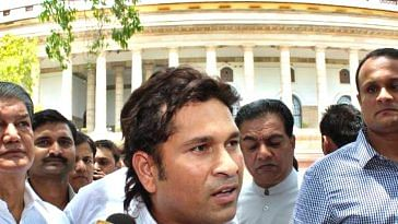 Sachin Tendulkar ended his tenure as Member of Parliament, Rajya Sabha, after 6 years. Picture Courtesy: Wikimedia Commons.