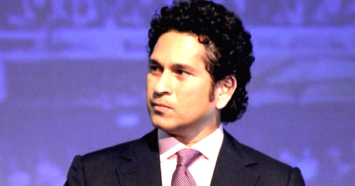 Sachin Tendulkar was a Member of Parliament, Rajya Sabha for 6 years. Image Courtesy: Wikimedia Commons