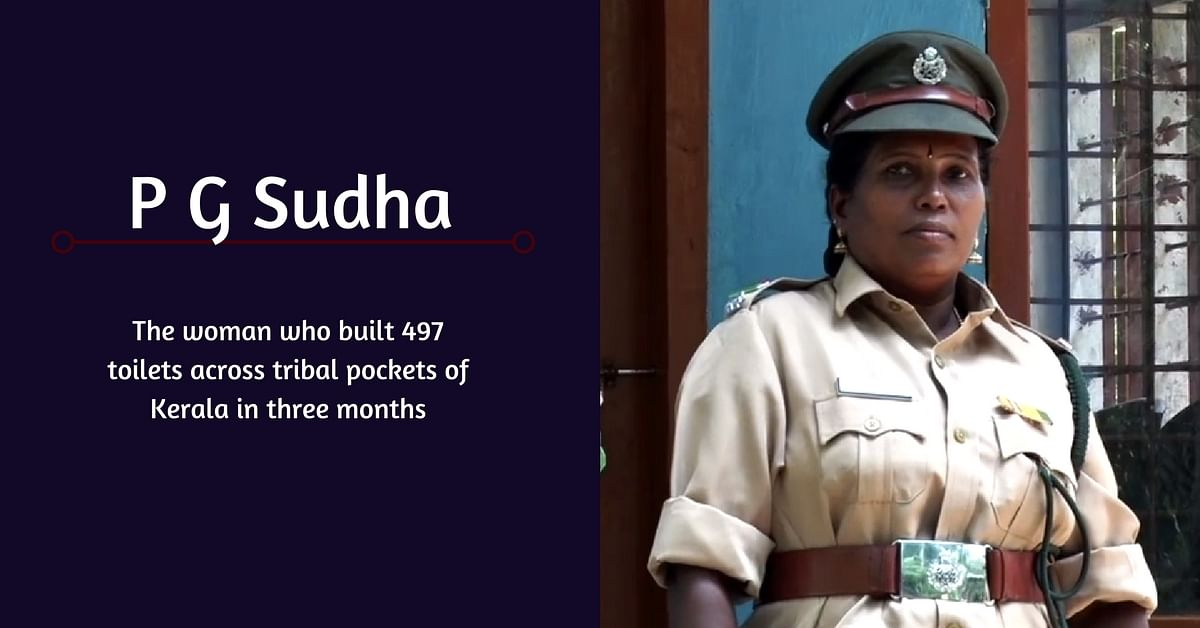 Dedicated Woman Forest Officer Singlehandedly Built 497 Toilets in Tribal Colonies!