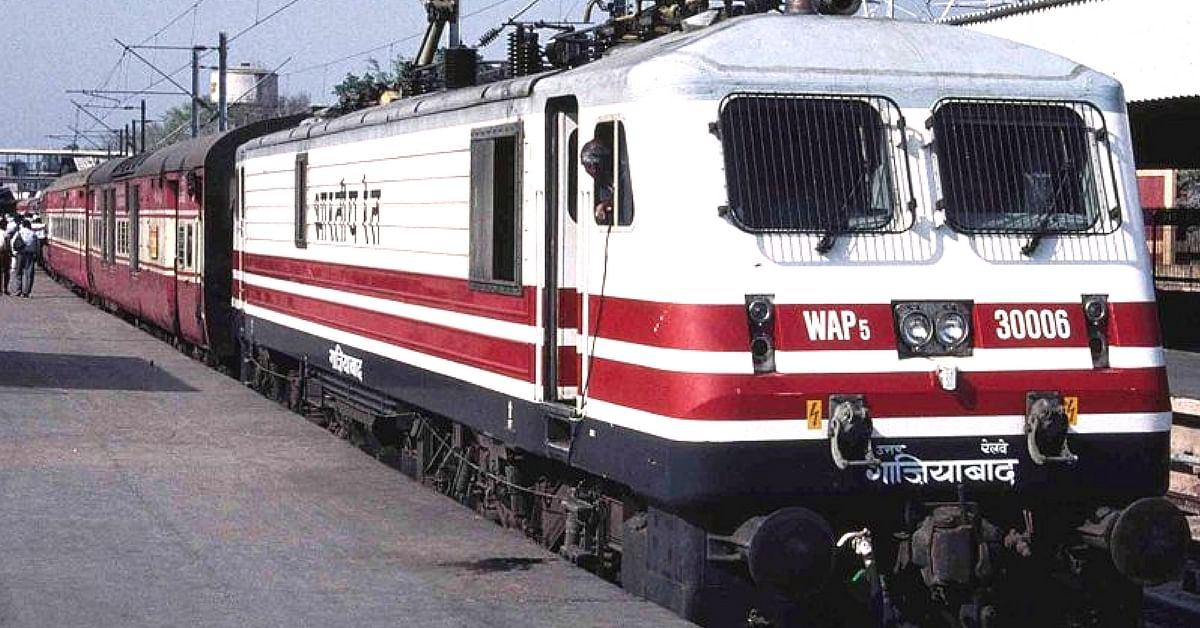The Indian Railways is setting a benchmark in going green. Representative image only. Image Courtesy: Wikimedia Commons