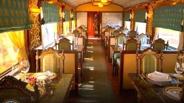 The Maharaja's Express, is a luxurious experience indeed. Image Courtesy: Facebook.