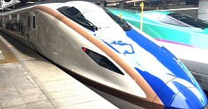 The bullet train will cut down travel time drastically. Representative image only. Image Courtesy: PxHere.