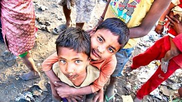 The children in the slum now have a future in school, thanks to the foundation's initiative. Representative image only. Image Courtesy:Pixabay.