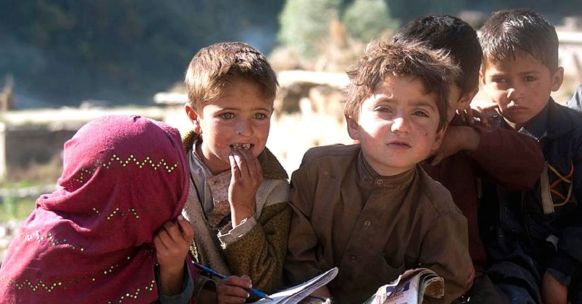 The children of Kashmir's Bakherwal community, will not miss out on learning. Representative image only. Image Courtesy: Wikimedia Commons
