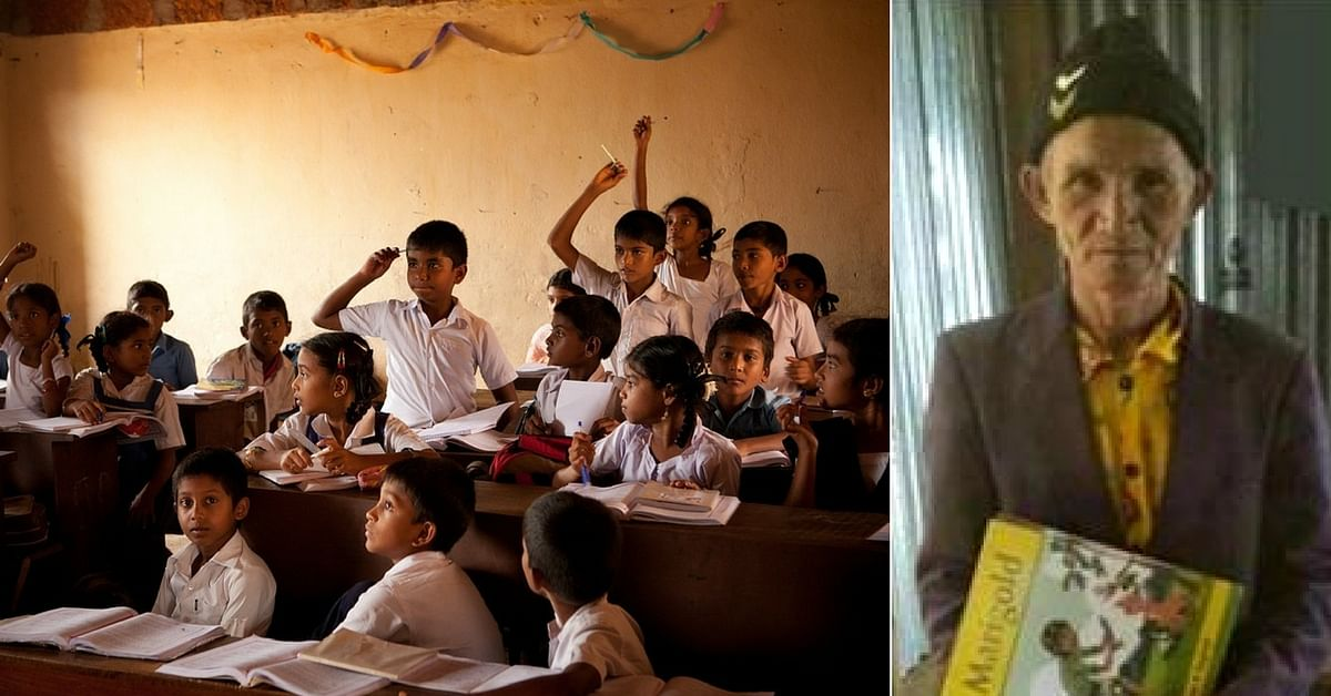 Family Compulsions Made Mizo Man Quit School. At 73, He Rejoins to Complete It!