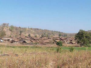 Bulumgavhan village from afar. (Source: Anand Arun Joshi)