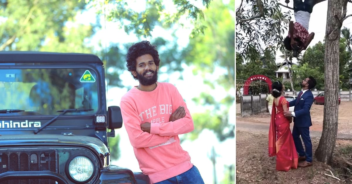 Seen the Viral 'Upside down' Photographer? Here's This Kerala Man's Story!
