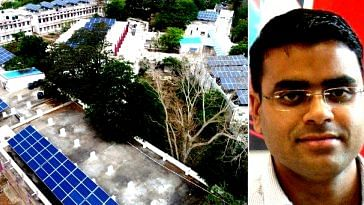 Vizianagaram is setting a great example-switching to solar power. Image Courtesy: Facebook.