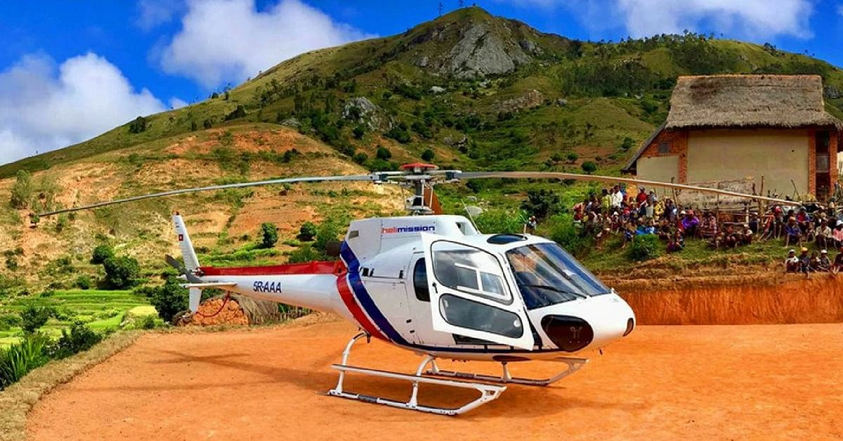Himachal Partners With Swiss Mission, Gets Free Heli-Ambulance Services Round the Clock