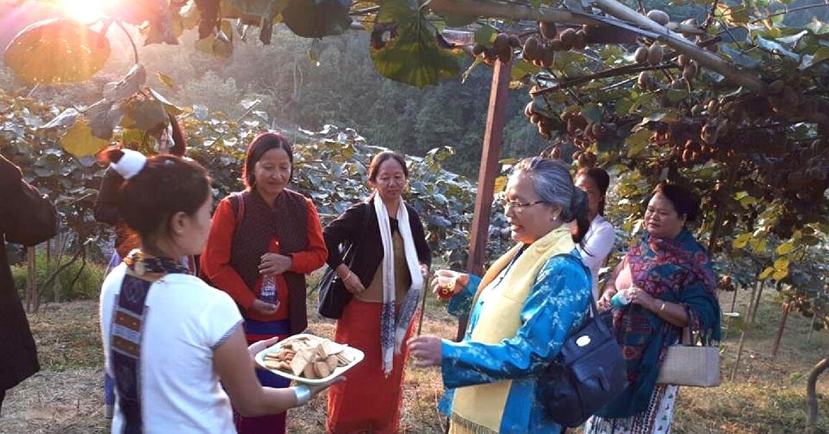 Kiwi Farmers of Arunachal's Ziro Valley Give 'Corky' Twist to Their Future!
