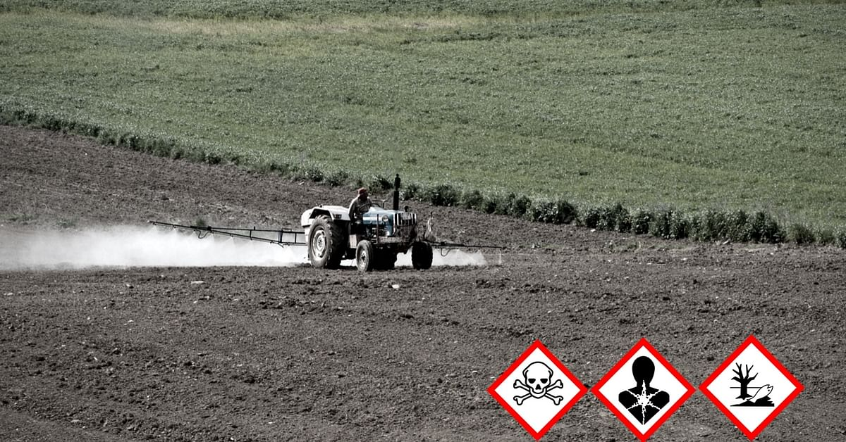 Pesticides usage in fields